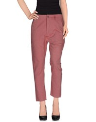 Novemb3r Trousers Casual Trousers Women Maroon
