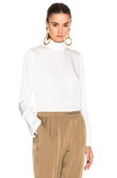 By Malene Birger Chara Top In White