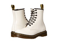 Dr. Martens 1460 W White Patent Women's Lace Up Boots