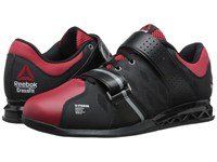 Reebok Crossfit Lifter Plus 2.0 Black Excellent Red Flat Grey Men's Cross Training Shoes