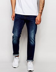 G Star G Star Jeans Stean Tapered Fit Wisk Dark Aged Blue