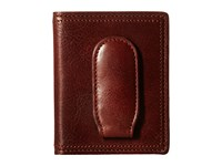 Bosca Dolce Collection Deluxe Front Pocket Wallet Dark Brown Wallet Handbags