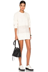 Mcq By Alexander Mcqueen Mcq Alexander Mcqueen Geo Cable Crew Sweater In White