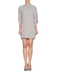 Violet Dresses Short Dresses Women Light Grey