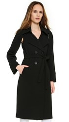 Alexis Sade Coat With Removable Sleeves Black