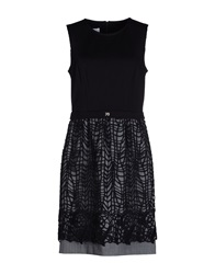 X's Milano Short Dresses Black
