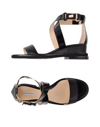 Emporio Armani Footwear Sandals Women Black