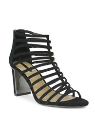 Tahari Arrive Suede Sandals Black
