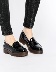 New Look Chunky Sole Loafer Shoe Black