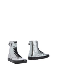 Rocco P. Ankle Boots Silver