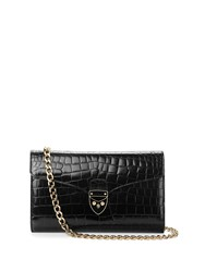 Aspinal Of London Manhattan Clutch Black