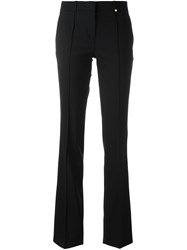 Versace Tailored Trim Detail Trousers Black