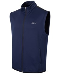 Greg Norman For Tasso Elba Hydrotech Zip Vest Only At Macy's Night Sky