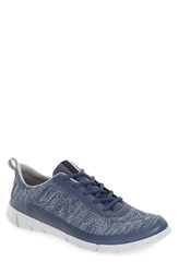 Ecco Men's 'Intrinsic Knit' Sneaker Denim Blue Moon