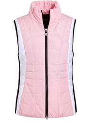 Golfino Quilted Gilet Pink
