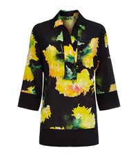 Escada Nizzan Floral Tunic Female Black