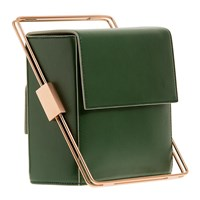 Lautem I Got Rhythm Leather Handbag Green