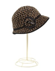 Betmar Tweed Hat Black Multi