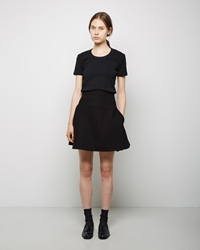 Carven Braided Woolen Mini Black