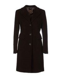 Caractere Coats Dark Brown