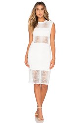 Twenty Boa Crochet Dress White