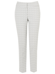 Phase Eight Erica Oval Trousers Silver Ivory