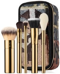 Tarte Stroke Of Midnight Brush Set And Travel Case No Color