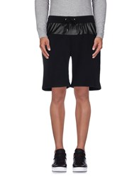 Philipp Plein Homme Trousers Bermuda Shorts Men Black