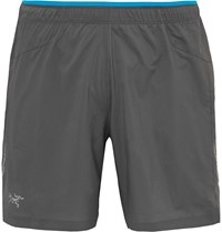 Arc'teryx Adan Shell Running Shorts Dark Gray