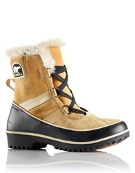 Sorel Tivoli Ii Suede And Faux Fur Lined Boots Tan