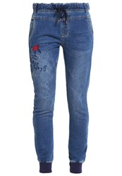 Desigual Donna Slim Fit Jeans Blue Denim