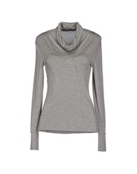Entre Amis Topwear T Shirts Women Grey