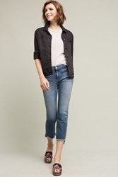 Anthropologie Mcguire Malone Mid Rise Crop Jeans Tinted Denim