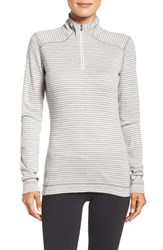 Smartwool Women's 'Nts Mid 250' Print Zip Base Layer Tee