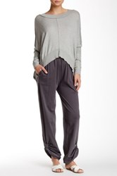 Planet Pully Pant Gray