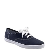 Women's Keds 'Champion' Canvas Sneaker Navy Canvas