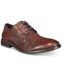 Frye Men's Sam Cap Toe Oxfords Men's Shoes Dark Brown