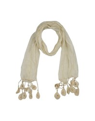 Coast Weber And Ahaus Accessories Oblong Scarves Women Beige