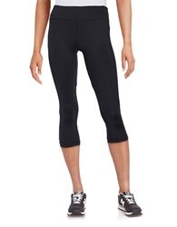 Karen Kane Cropped Active Pants Black