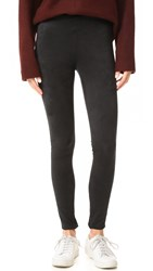 Velvet Rosalind Vegan Suede Leggings Black