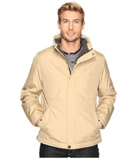 Nautica Berber Lined Bomber Sandy Bar Men's Jacket Beige