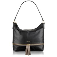 Radley Pickering Black Medium Hobo Black