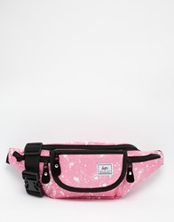 Hype Speckled Bum Bag In Pink