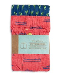 Tommy Bahama 2 Pack Printed Boxers Red