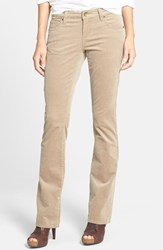 Kut From The Kloth Women's Baby Bootcut Corduroy Jeans Khaki