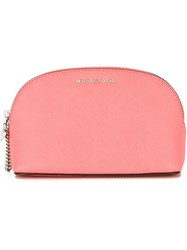 Michael Michael Kors 'Cindy' Make Up Bag Pink And Purple
