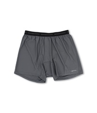 Exofficio Give N Go Boxer Charcoal Men's Underwear Gray