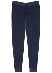Orlebar Brown Beagi Navy Terry Jogging Trousers