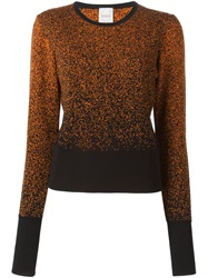 Eggs Speckled Sweater Black