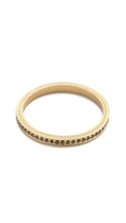 Jamie Wolf Thin Pave Black Diamond Band Gold